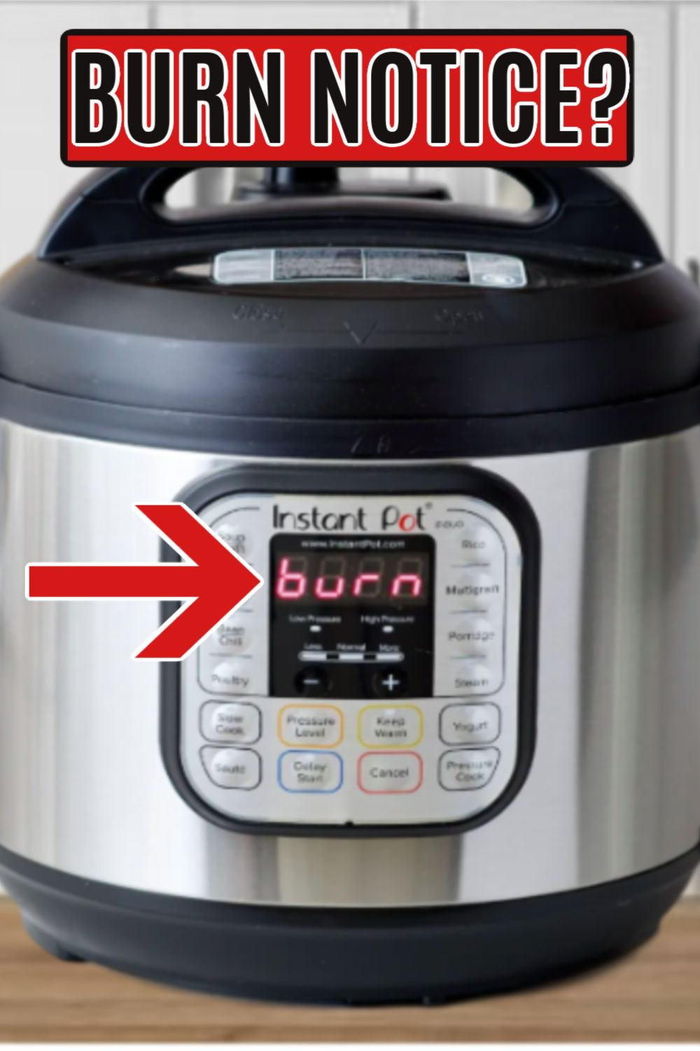 Have you gotten the burn notice on your instant pot we