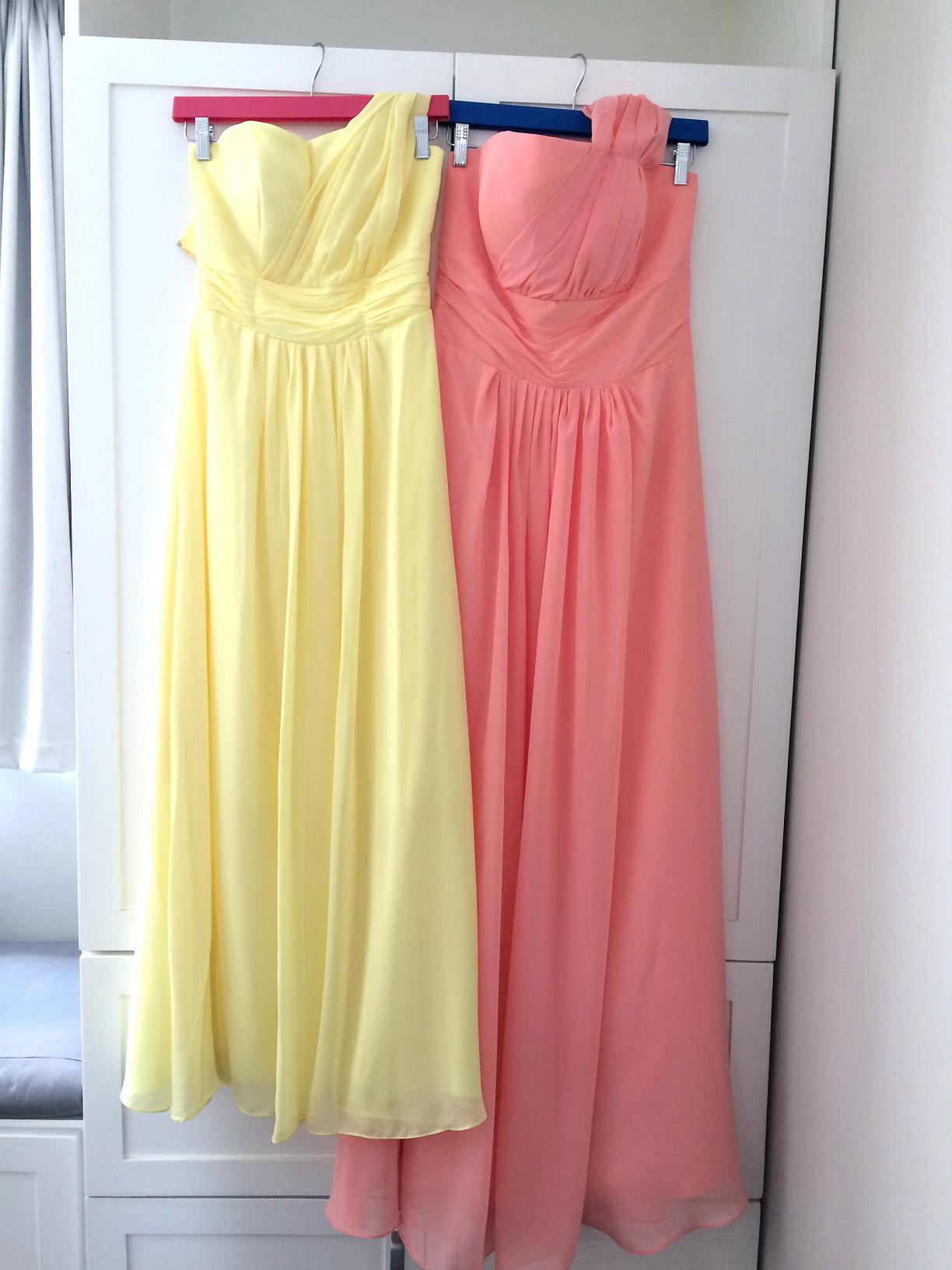 Vestidos de Dama fabricados a medida Más de 100 colores Danos tu ...
