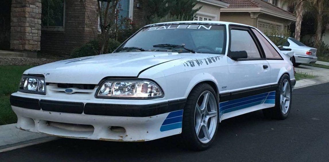 Needs Rescuing 1989 Saleen Mustang Saleen Mustang Mustang Fox Body Mustang