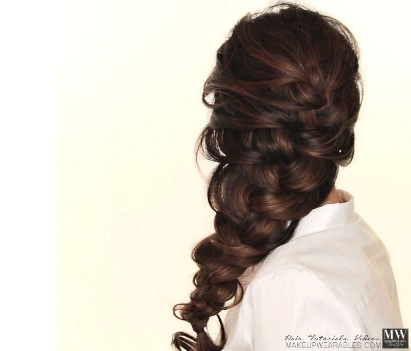 Elsa Frozen #Hairstyle | How To Voluminous French #Braid Hair ...