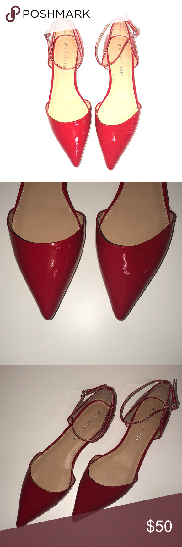 Shoes of Prey Lima 0 Patent Leather