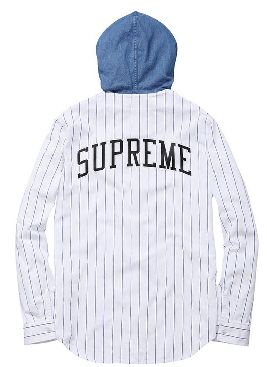 d50e6550d4 supreme hooded baseball jersey-back