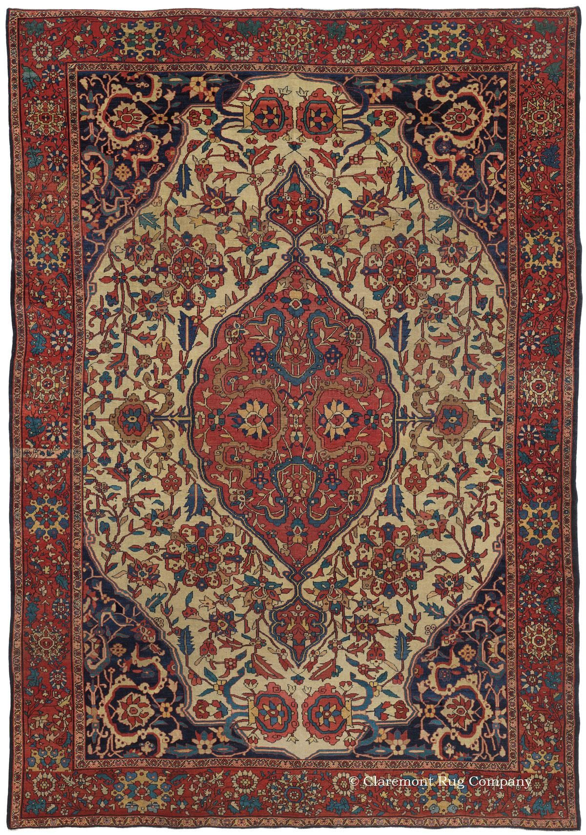 Ferahan Sarouk West Central Persian 6ft 10in X 10ft 0in Circa 1875 Rugs Antique Carpets Rugs On Carpet