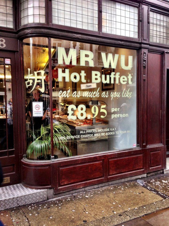1 Www Visitlondon Com A Chain Of Chinese Buffet Restaurants