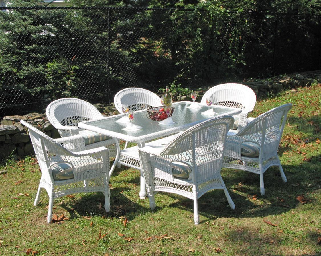 Resin Wicker Dining Set Custom Outdoor Furniture Patio Dining