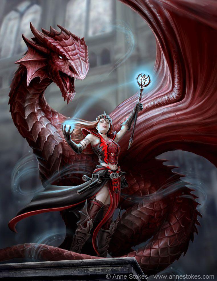 Scarlet Mage by Ironshod.deviantart.com on @DeviantArt