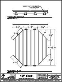 How To Build An Octagonal Deck Deckplans Deck Building Plans Timber Deck Building A Deck