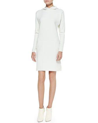Ralph Lauren Women s Charisses Hooded Tunic Dress Collection Off White 4 95f26e0d7