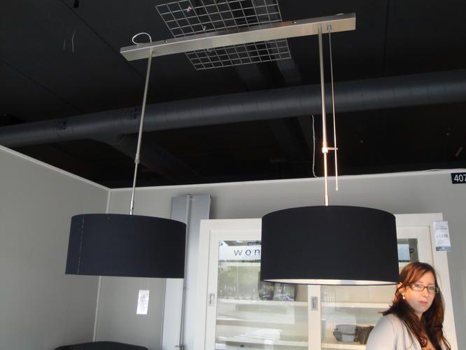 Plafoniere Per Van : Ophangen lamp boven eettafel circa 20 cm naast contactpunt