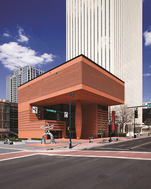 Museu de Arte Moderna Bechtler / Mario Botta (420 South Tryon Street, Charlotte, NC 28202, EUA) #architecture