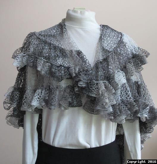 Nautilus Shawl Are You Ready For A New Idea For Using