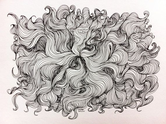 Pin by Sơn Văn on Sharpie Art and Paper Sculpture | Abstract line art, Abstract  lines, Line art drawings