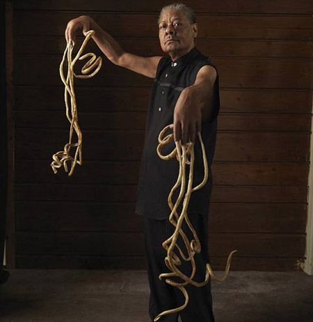 World's Longest Nails (longest nails, worlds nails) - ODDEE | World records, Guinness world records, Guinness book of world records