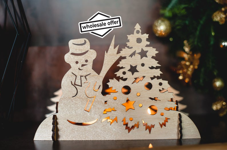 Wholesale Christmas Decoration Wholesale Order 10 Pcs Etsy In 2020 Christmas Light Ornament Christmas Decorations Wholesale Decorating With Christmas Lights
