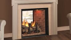 Monessen KSTDV500NTSC Covington Clear View See Thru Top Vent Gas Fireplace  System
