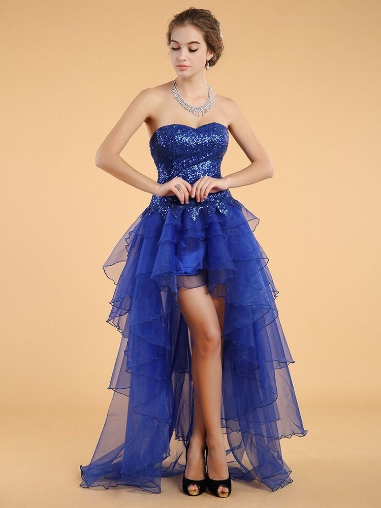 Mercado libre vestido azul royal