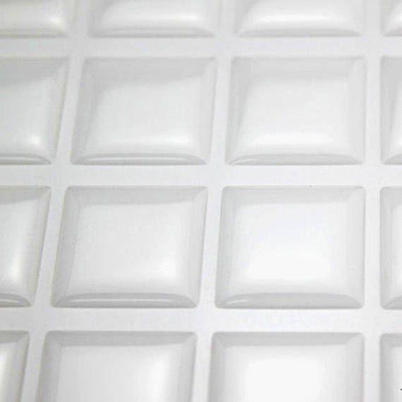 18x20mm scrabble tile Clear square Epoxy Stickers, rectangle