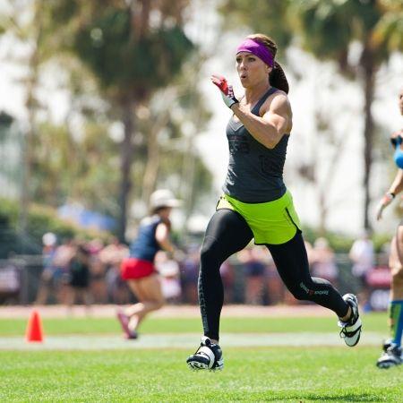 Heather Welsh - look of determination