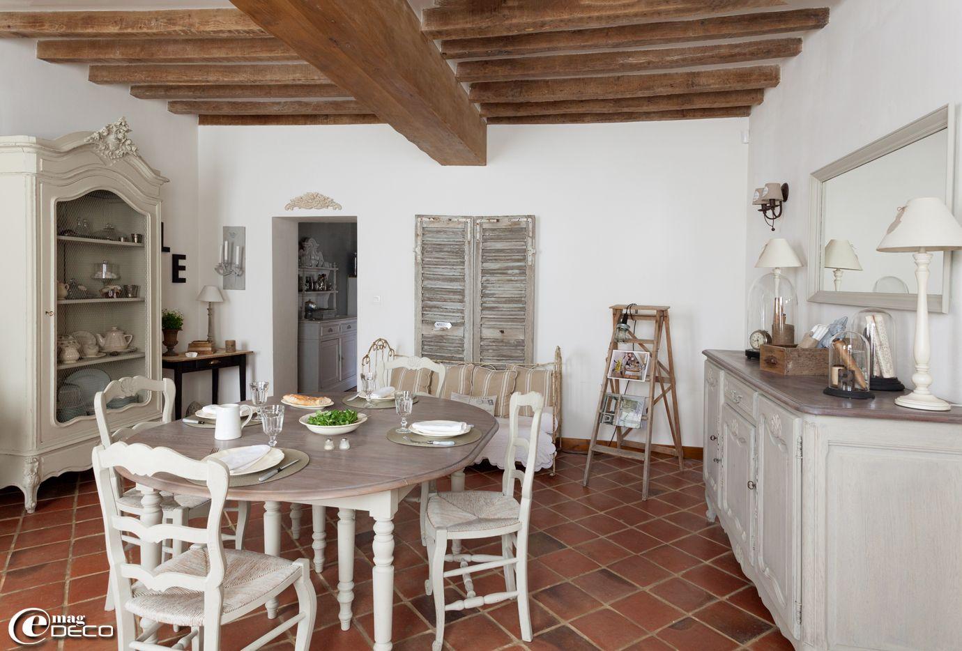 Jouant avec les styles et le mobilier et les objets anciens c line passionn e de d coration for Objets decoration maison