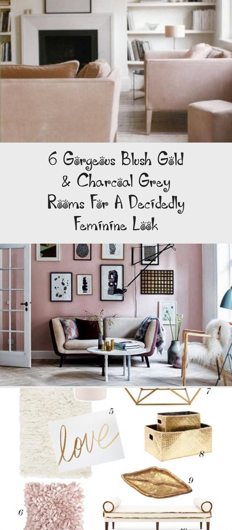 Interior design is like the fashion world (although very few of us change our décor with the seasons as much as we do our clothes) but there are definite TRENDS in interiors too. Trending right now are the colours BLUSH, GOLD and CHARCOAL GREYS. #interiordesigntips #blushgold #interiordesignideas #blushgolddecor #interiordesignBohemian #interiordesignSketches #Vintageinteriordesign #interiordesignGrey #interiordesignPresentation