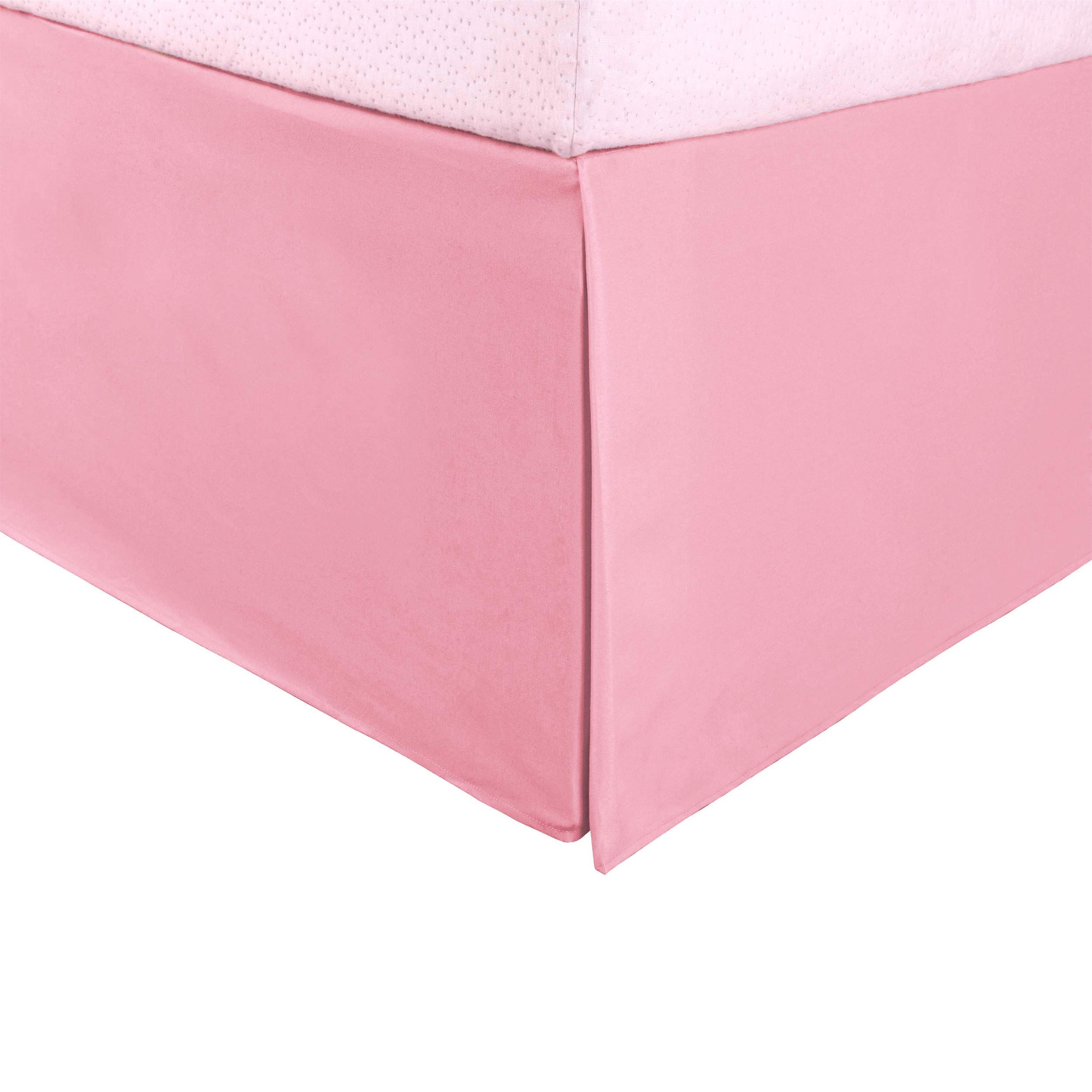 Superior 100 Brushed Microfiber Pleated Bed Skirt, Queen