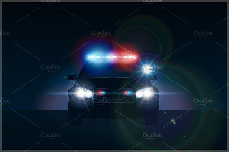 Police Cars Revolving Light Festa Da Policia Carro De Policia Bombeiro