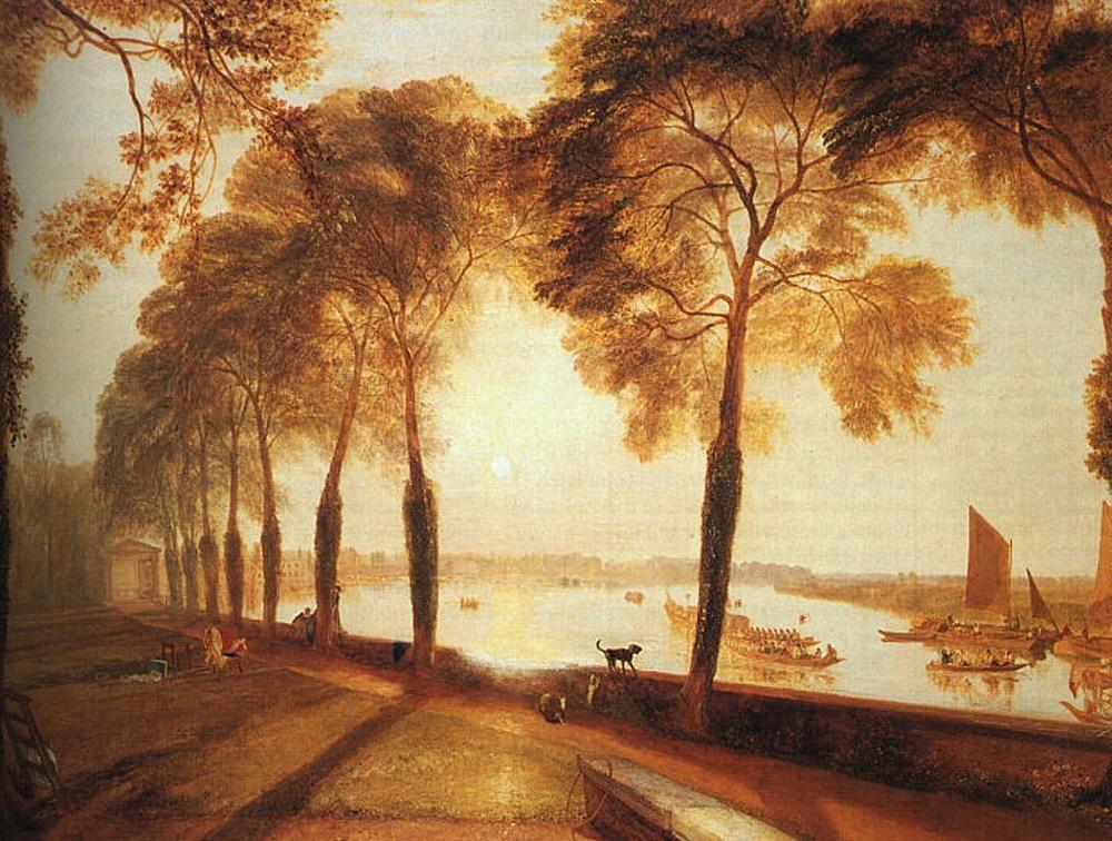 Joseph Mallord William Turner Mortlake Terrace Painting