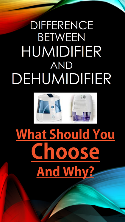 Difference Between Humidifier vs. Dehumidifier