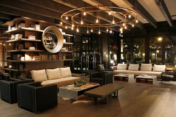 Thompson chicago hotel best boutique hotel lobby design for Boutique design hotels