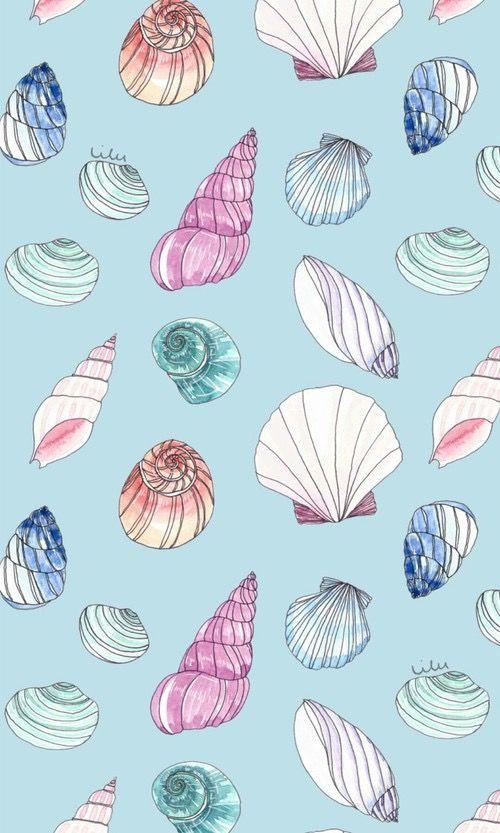 Conchinhas!! Wallpaper Mermaid Tumblr!! Papel de parede ...  Conchinhas!! Wa...