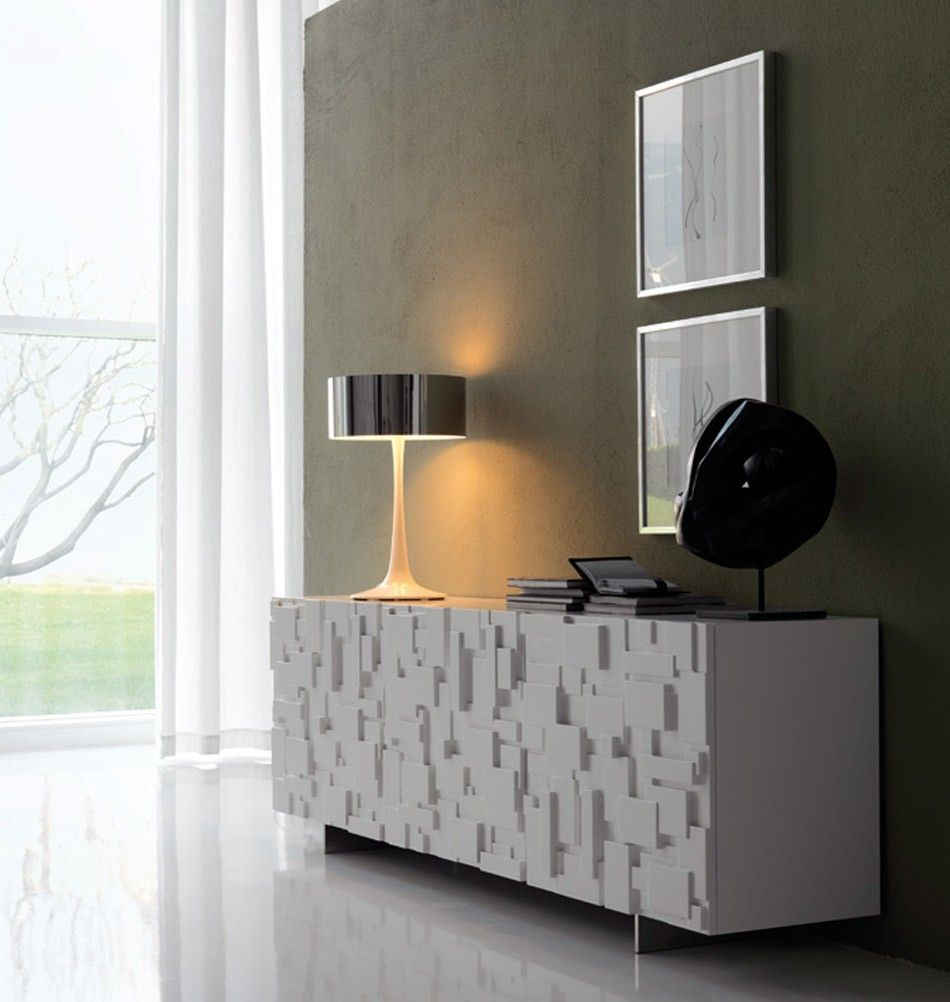 cattelan italia sideboard labyrinth wei sideboards konsolen pinterest wohnzimmer. Black Bedroom Furniture Sets. Home Design Ideas