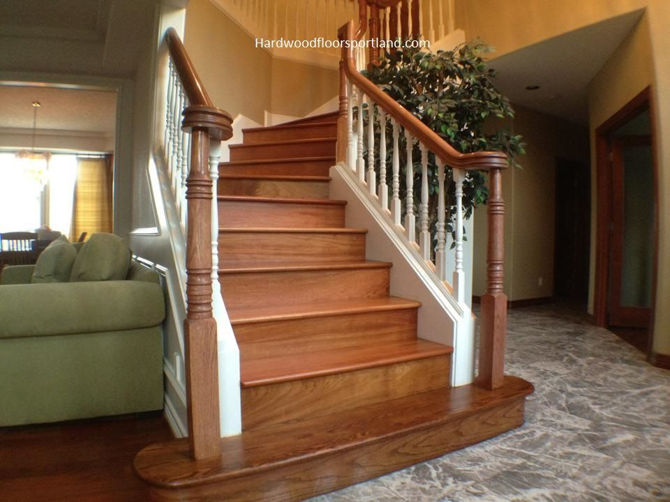 Best Brazilian Cherry Staircase Brazilian Cherry Portland 400 x 300