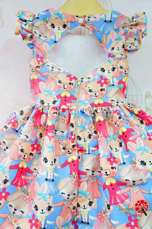 Vestido Infantil Coelhinhas Mon Sucré Babylove Modelos