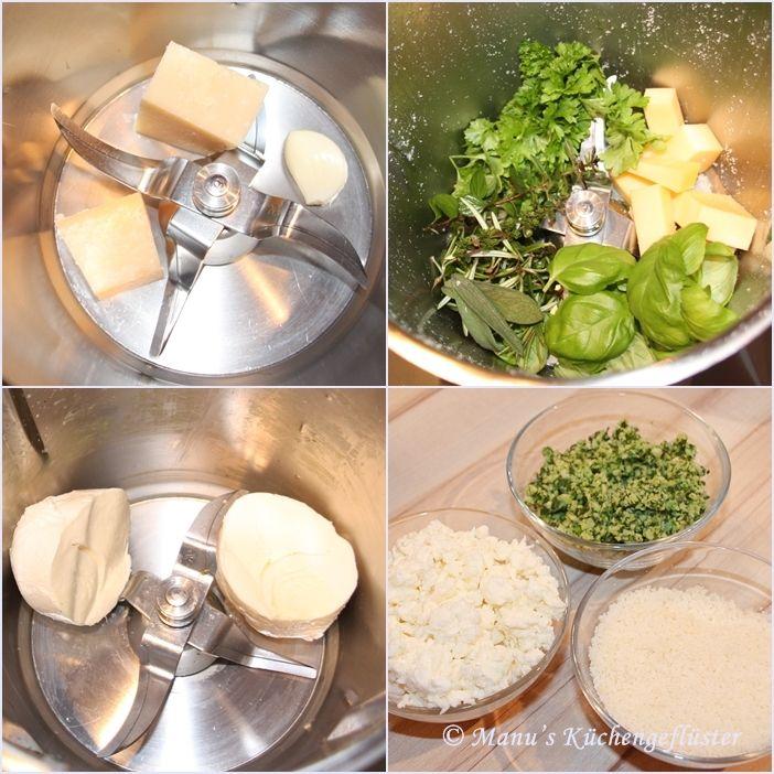 Manus Küchengeflüster: Hefeschnecken mit dreierlei Käse