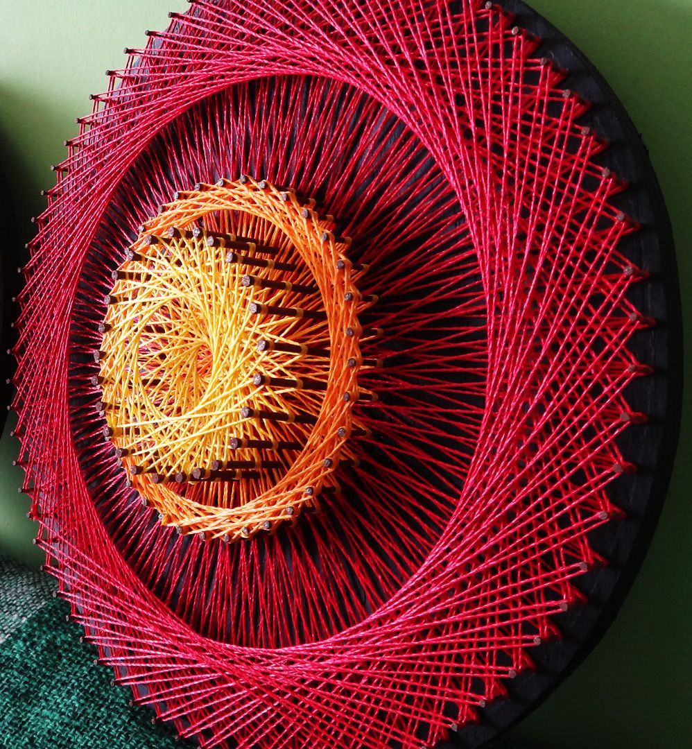 String Art: Aline Campbell: String Art