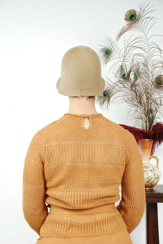 Mustard yellow sweater set | Vintage: Knits | Pinterest | 1920s ...