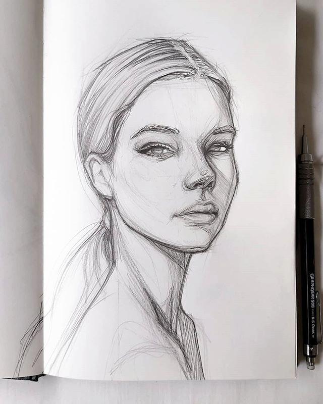 Con Lujo De Arte Y Artistas En Instagram Impresionante Bocetos Realizados Por Artsyandgreen Wh Rostros De Arte Artistas Dibujos