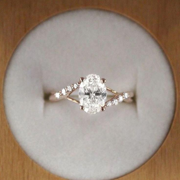 Mature Broadened Engagement Ring And Wedding Band Forward To A