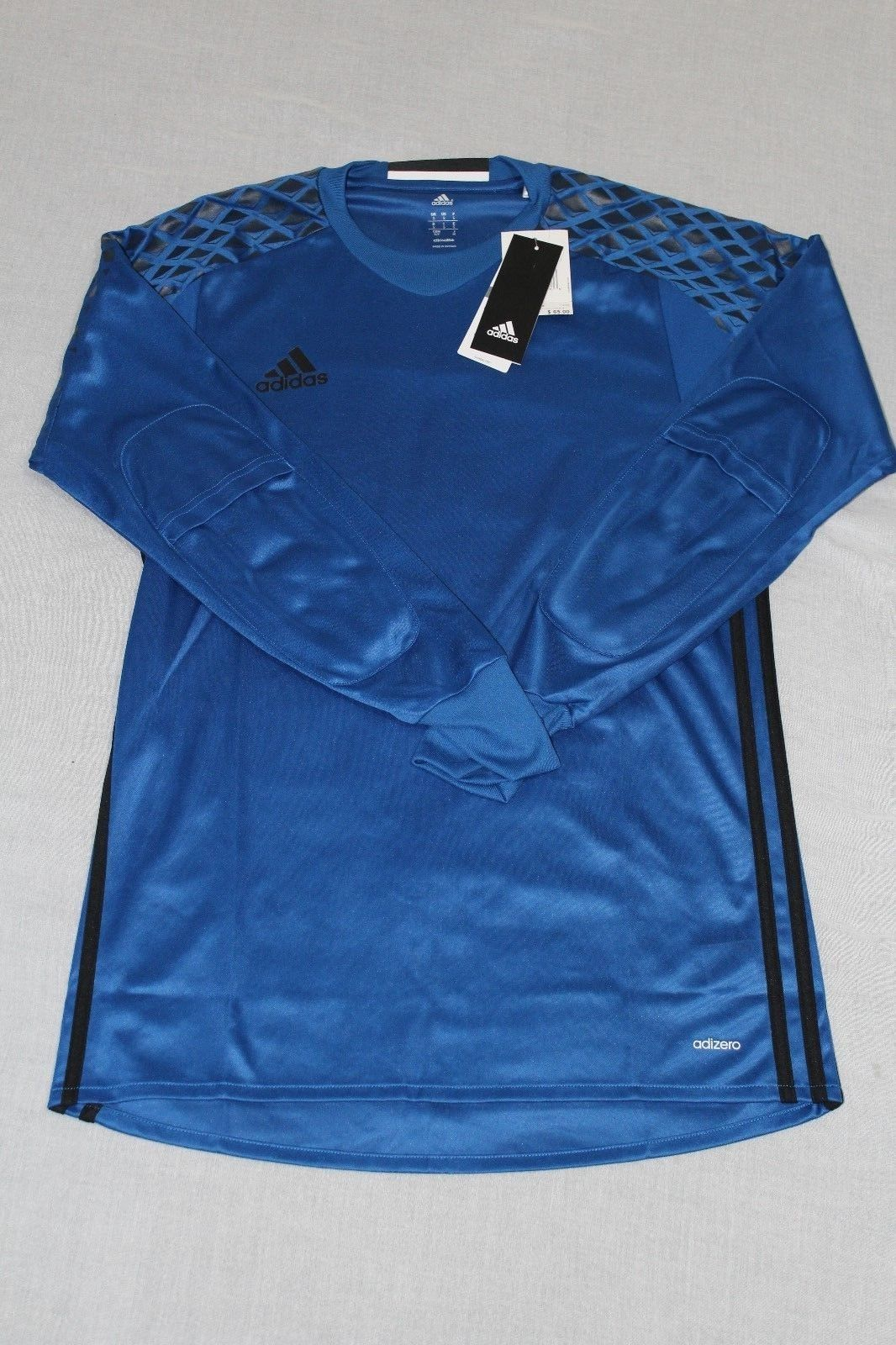 3e18ba81f66 Adidas Onore 16 GK Goalkeeper Jersey Adizero Blue/Black Men Sizes SML  #AI6338
