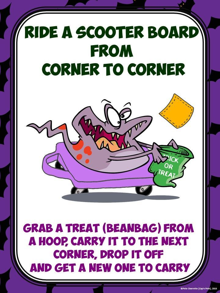 Image result for halloween pe game Physical education