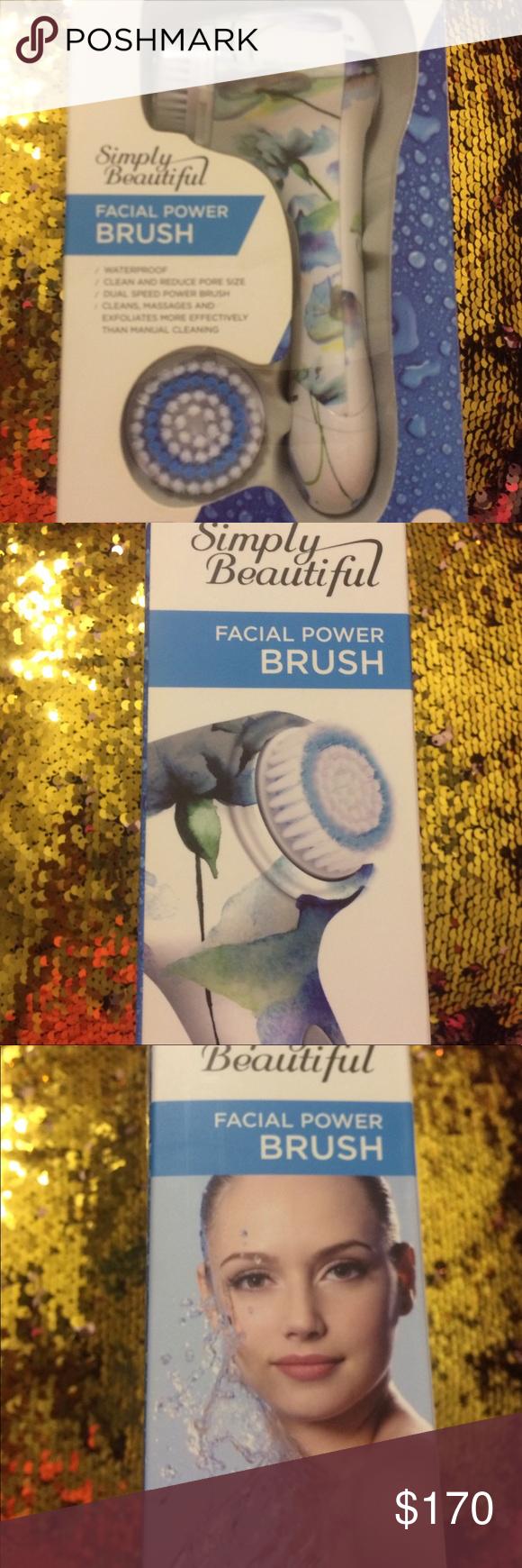 Mini Electric Facial Cleaning Massage Brush Washing