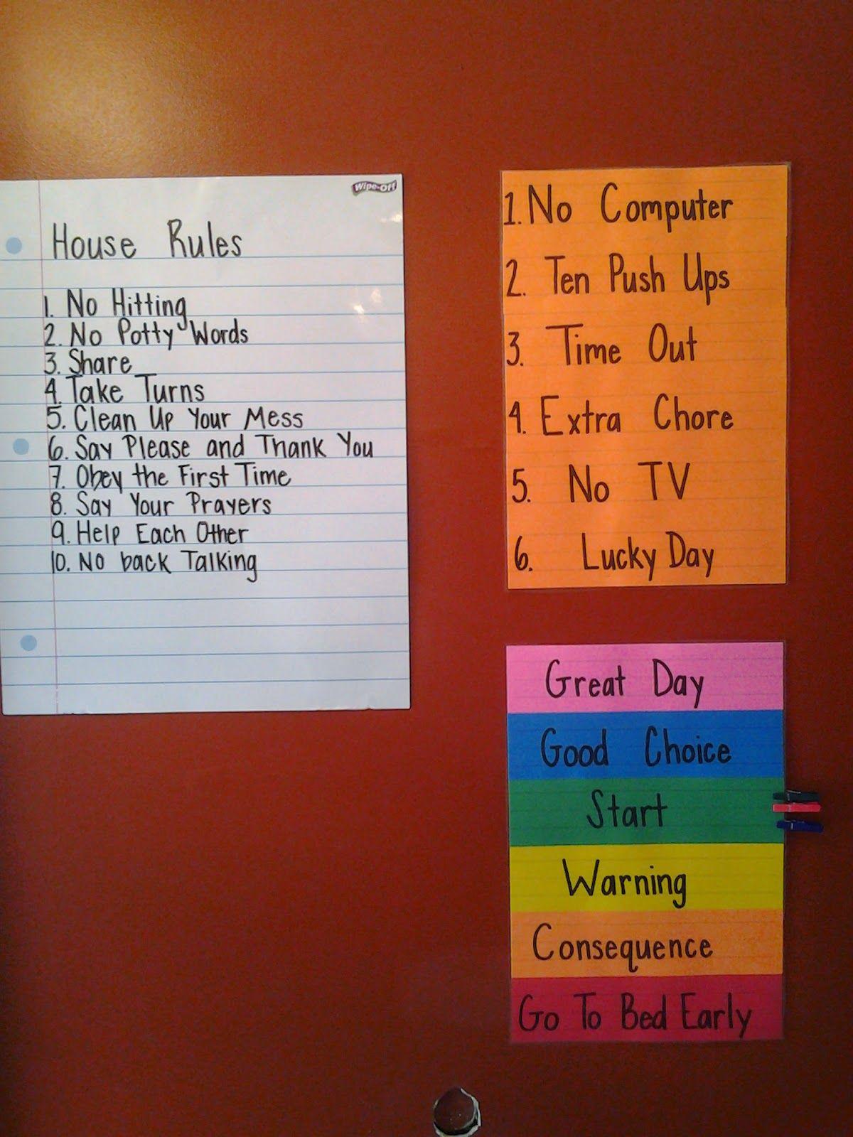 Discipline At Home