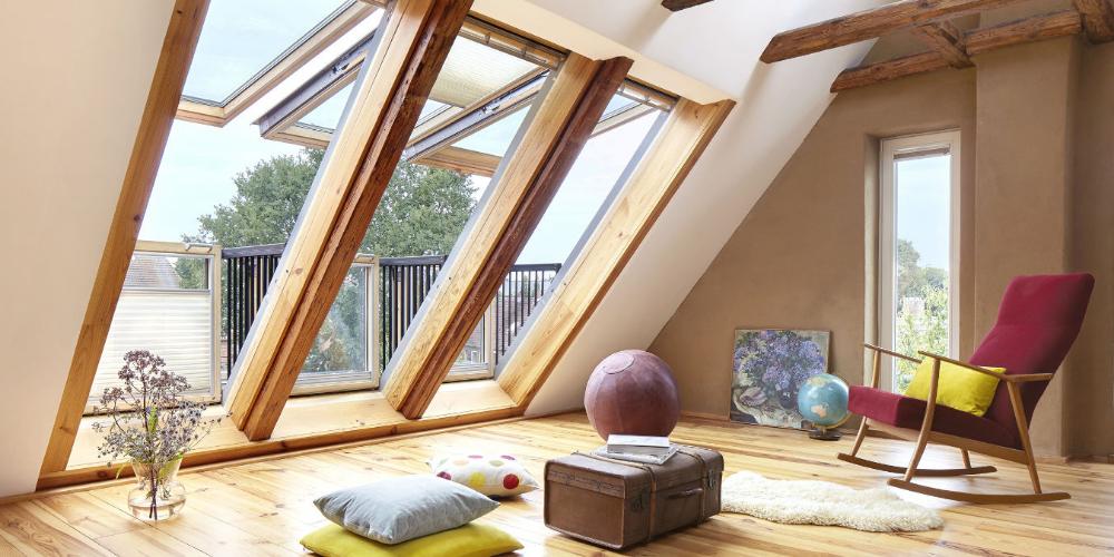 Ausbau Dachgeschoss, mehr Wohnfläche unter der Dachschräge