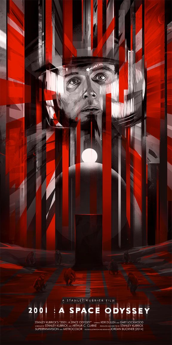 2001 A Space Odyssey Poster affiche, Affiche film