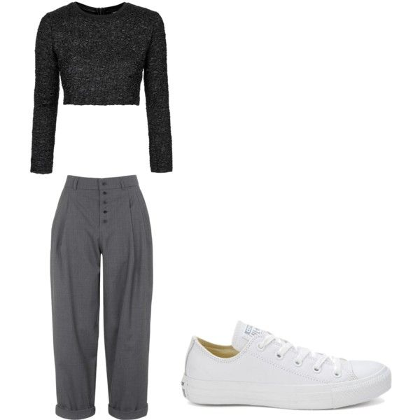 B&G by mirand0xxa on Polyvore featuring polyvore fashion style Topshop Boutique Converse SUSCRIBE