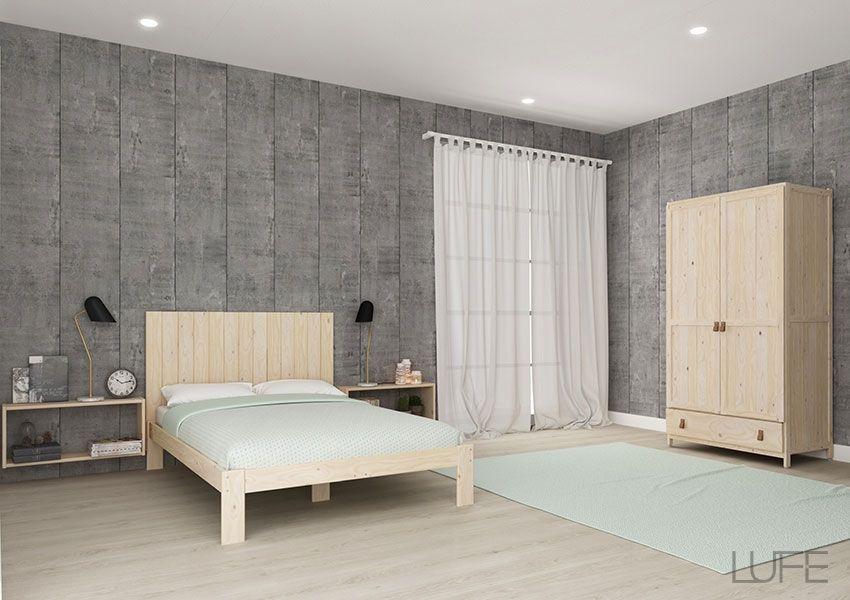 Cabecero barato de lamas de madera para Cama 90 cm | Pinterest ...