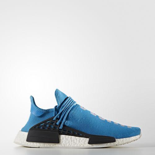 Pharrell Williams Williams Pharrell HU Race NMD Zapatos Azul | NMD Human Race f29eb0