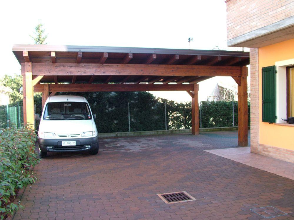 Carport modello base dimensioni cm 500 x 700 adatto per for Quattro piani di garage per auto