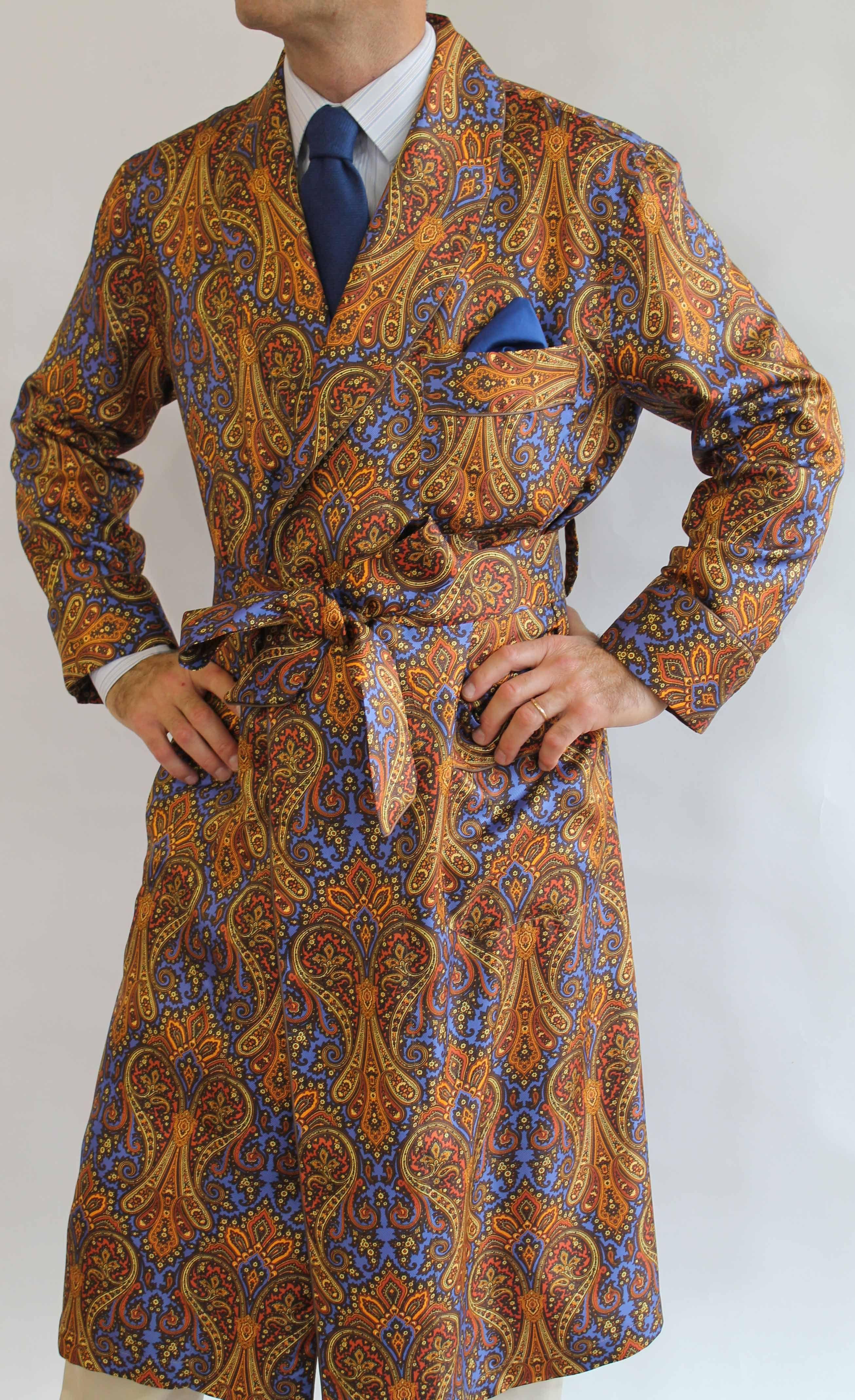 """Résultat de recherche d images pour """"robe de chambre motif cachemire"""