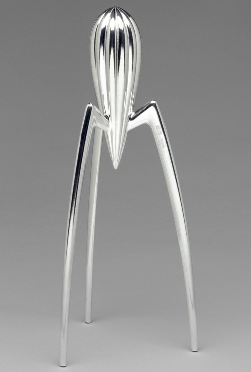 Alessi juicy salif citrus squeezer by philippe starck for Philippe starck architecture